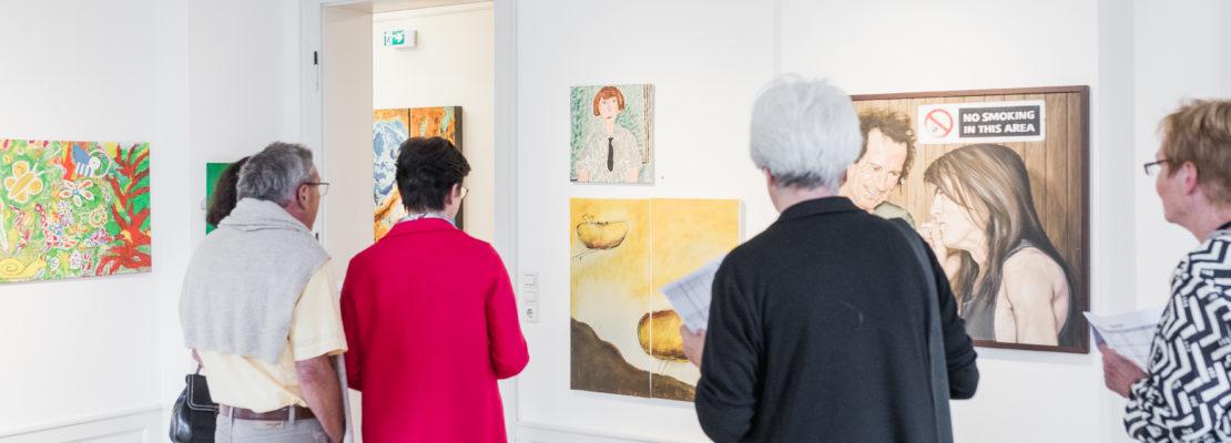 Ausstellung der Werke zum Bundeskunstpreis in der Villa Bosch
